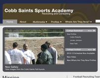 Cobb Saints Sports Academy Website