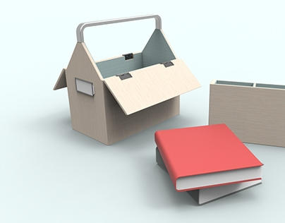 Book box - A multimedia library at home
