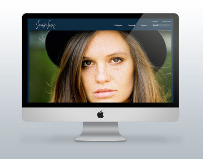 Janessa Leone Hats Web and Branding