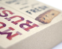 100% Muesli Rusks Packaging