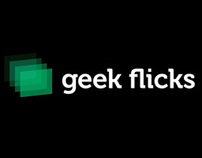 geek flicks - Visual Identity