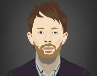 Thom Yorke/Illustration.
