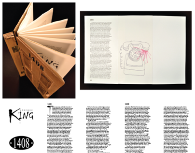 Illustrations and Book Inspired By Stephen Kings 1408