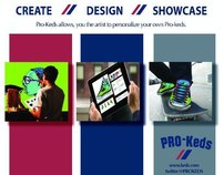 Integrated Campaign for PRO-Keds.