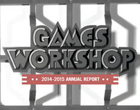 Games Workshop Annual Report