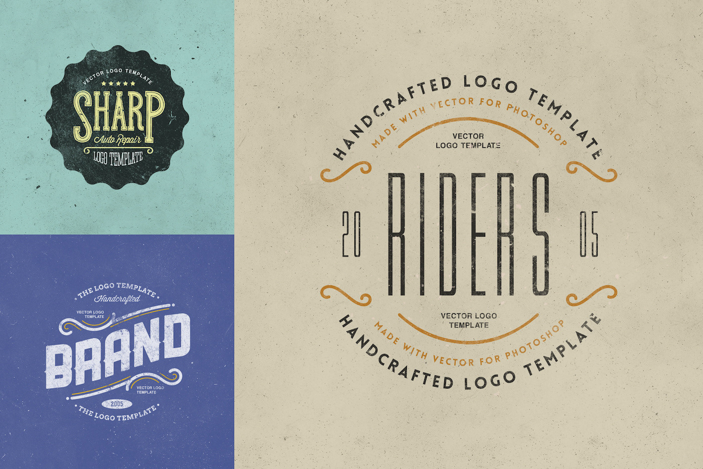 Badges & Logos Vol.03