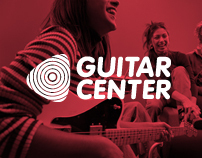 Guitar Center Rebrand