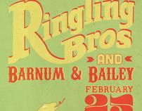 Barnum  & Bailey Circus Campaign