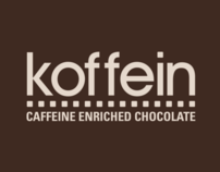 Koffein Chocolate Bar Packaging