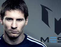 Leo Messi signature logo