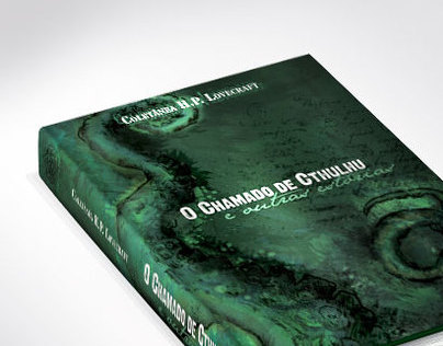 Capa de Livro H.P. Lovecraft Vol1 (Book Art Cover Vol1)