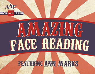 AAF Lunch & Learn // Amazing Face Reading