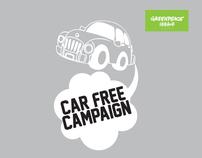 Greenpeace- Car Free Campaign