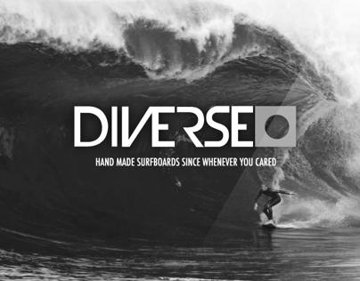 Diverse Surfboard Website Concept