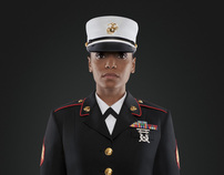 MARINES - (Photo Art Direction)