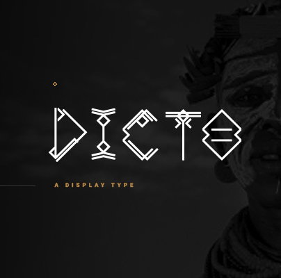 DICTO Display Typeface