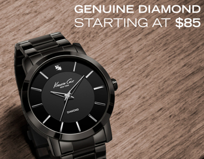 Kenneth Cole Genuine Diamond Collection POS