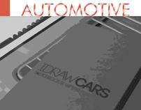 IDRAW CARS Sketchbook