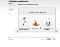 Fido Mobile Data Calculator