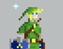 Pixel Video Game Characters for Kotaku