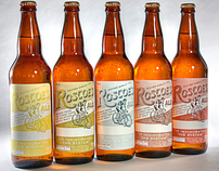 Roscoes Fine Ale Branding + Packaging