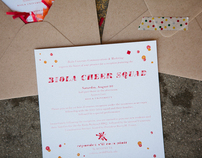 Cheer Reception Invitation