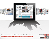 San Antonio Express-News App for iPad Campaign