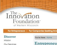 The Innovation Foundation of Western Wisconsin Branding