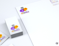 NeWorld Exhibitions Visual Identity