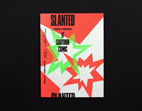 Slanted #17 – Cartoon / Comic