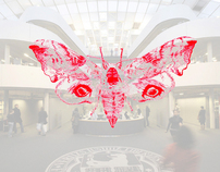 Moth Possible at Foster + Partners Library Berlin