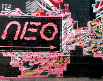 NEO entrance alley