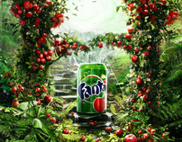 Fanta Red Apple