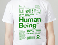 Human Being Green - Climate Week charity shirt