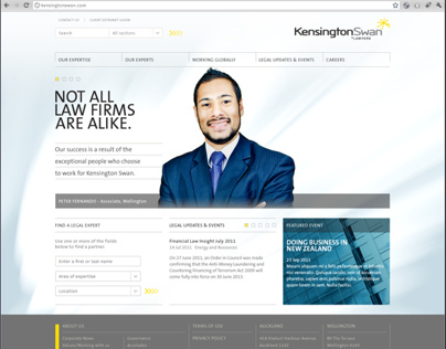 Kensington Swans Website Design Collaboration
