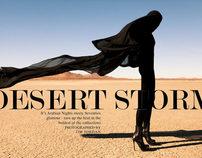 DESERT STORM EDITORIAL