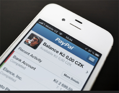 iPhone UI Design – PayPal