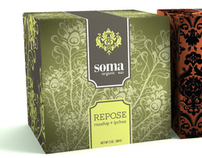 Soma Teas Packaging