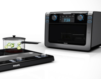 Micro-ondas & Cooktop Philips