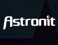 Astronit: naming and brand identity design