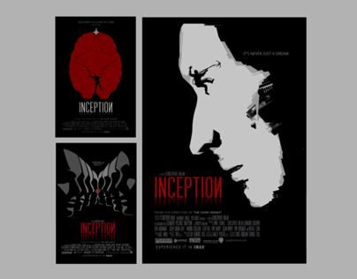 Inception minimalist poster series