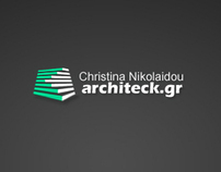 Architeck.gr Web Site and Logo Design