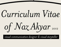 Naz Akyar Visual CV// 2013 update