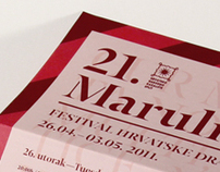 21st Marulic Days, festival of Croatian drama