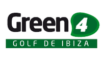 Green 4 Ibiza Golf Logo