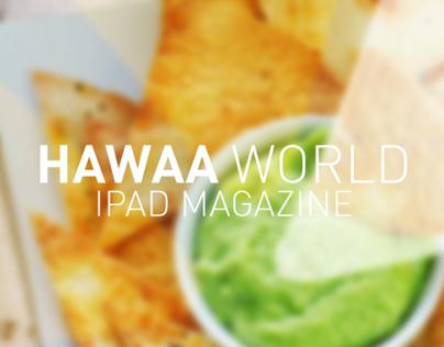 HawaaWorld | iPad interactive Mag