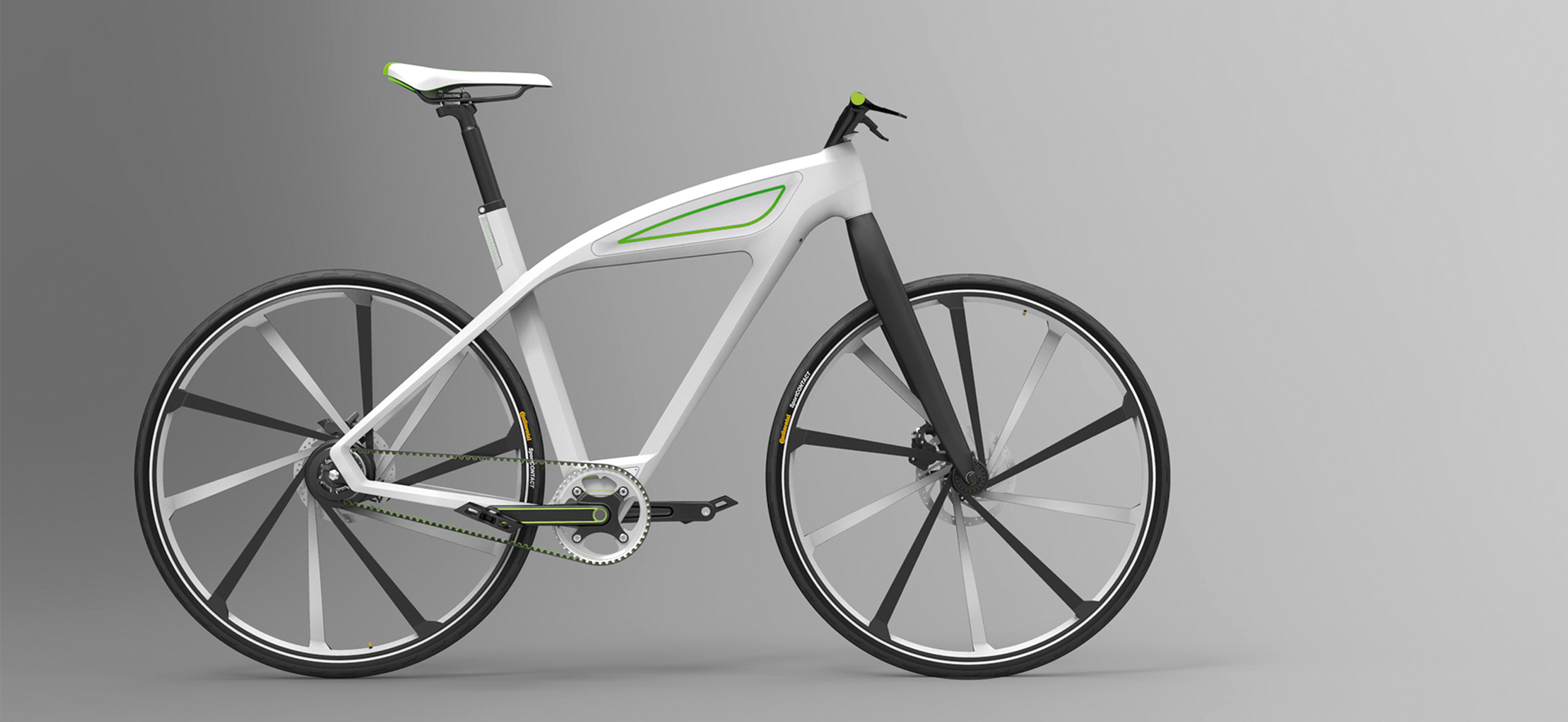 eCycle-electric bicycle design concept