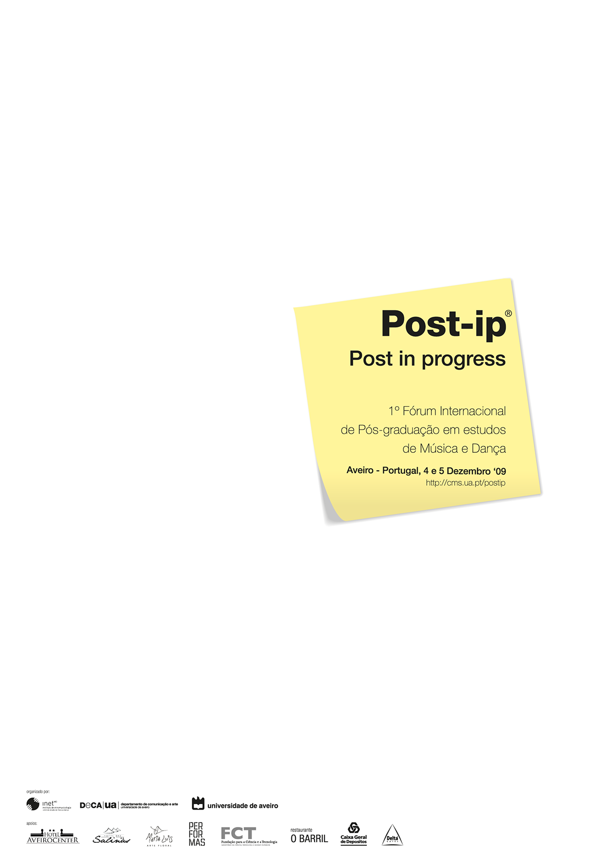 Post-ip: Post in progress [comunication & editorial]