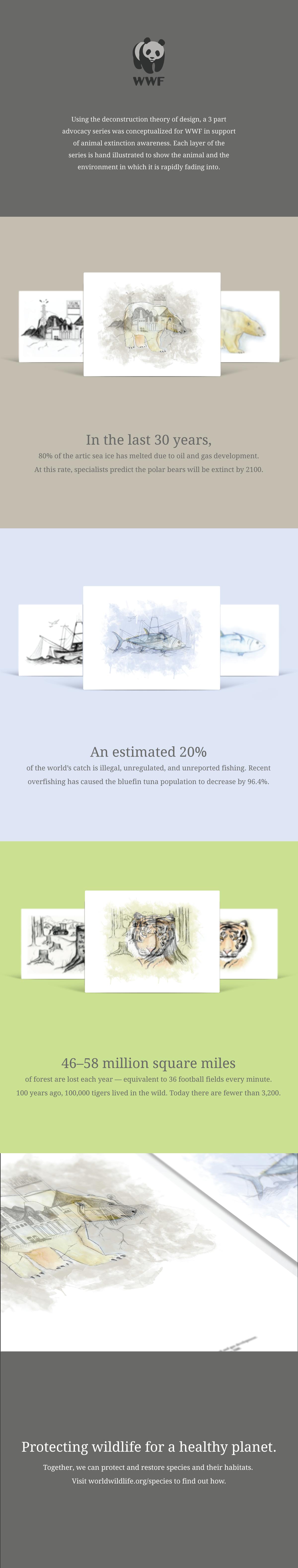 Animal Extinction Advocacy Posters