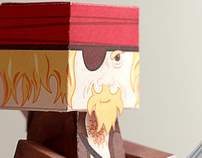 Pirate Joe - Paper Craft